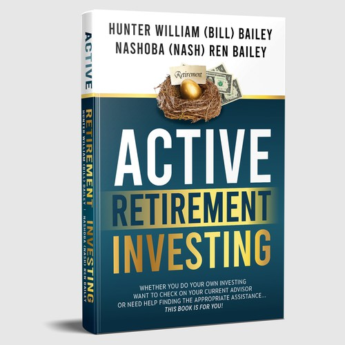 Book cover 'ACTIVE RETIREMENT INVESTING'