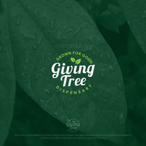 "logo proposal for ""Giving Tree"" company"