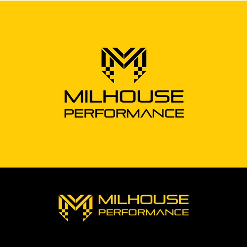 Concept Logo for Milhouse Performance