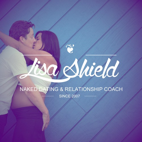 Can you can create a dynamic, colorful, vintage logo for a dating &relationship coach?