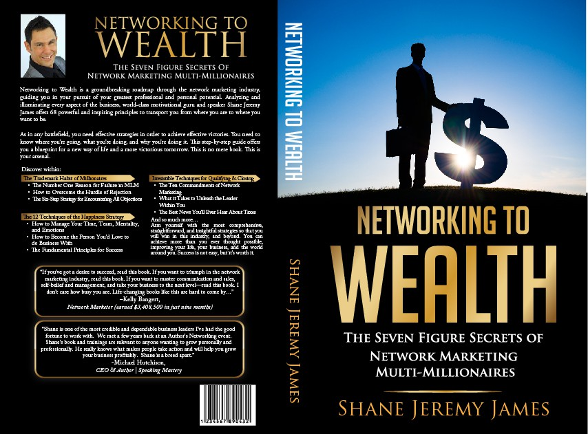 book or magazine cover for business/network marketing