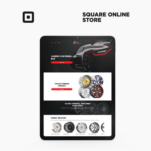 Square Online Store For Jaded Customz 813