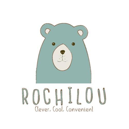 baby  kids logo bear