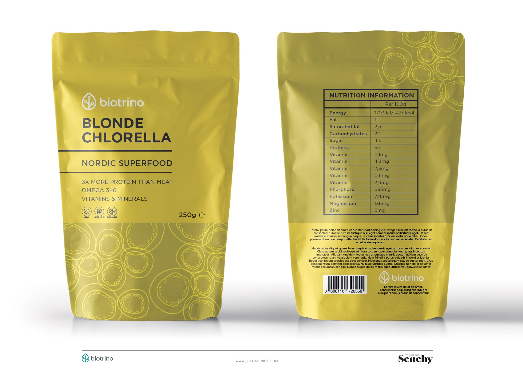 Golden chlorella - The nordic superfood