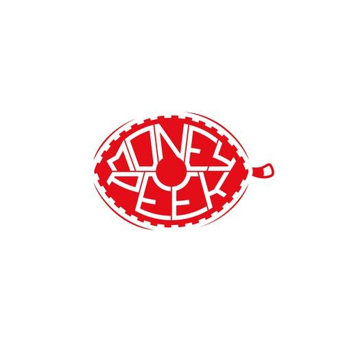 """Money Peek"" Logo"