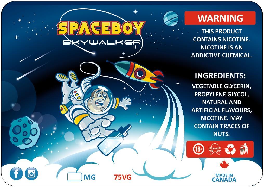 Design A Fun Space Themed E-Liquid Packaging