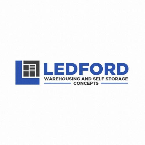 Bold logo concept for LEDFORD