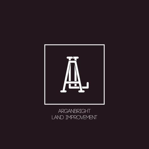 Clean modern logo ALI