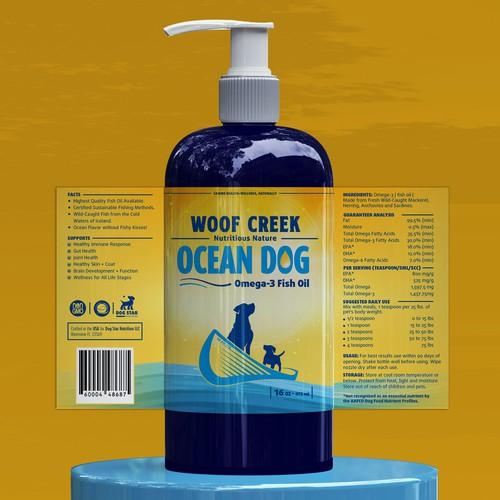 Ocean Dog Label