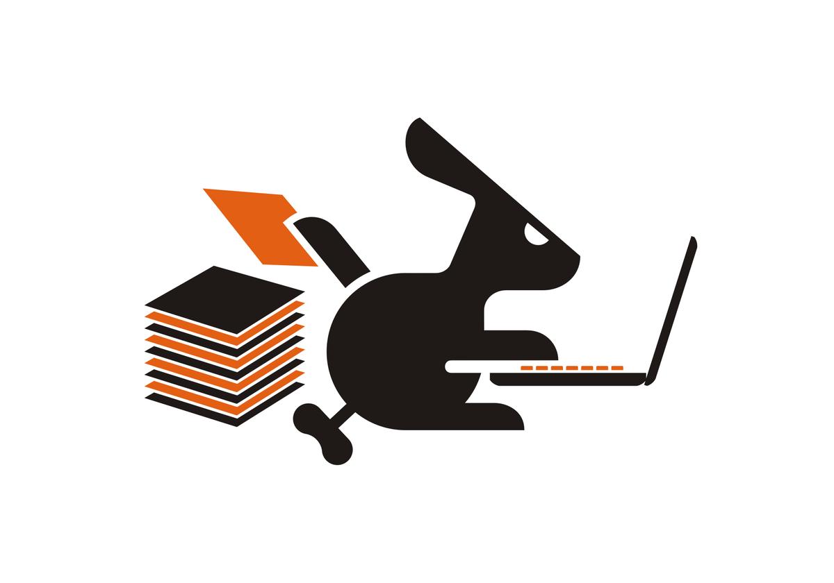 Rabbit and Turtle Illustrations