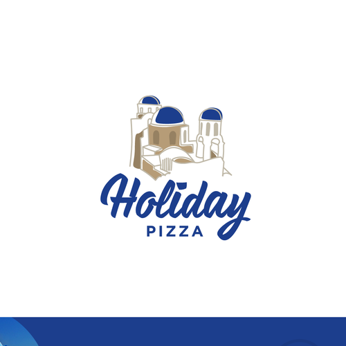 Logo concept for Holiday Pizza