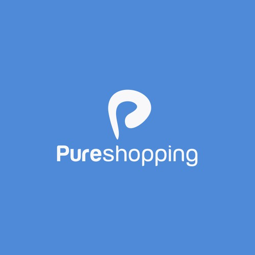 Create a playful logo for Pureshopping which serves both B2B and B2C
