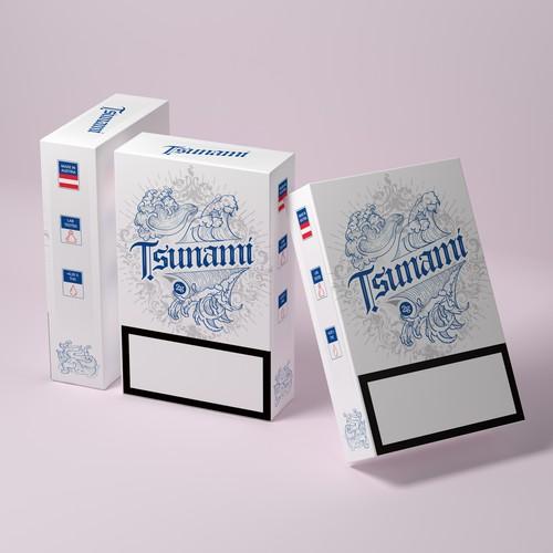 Tsunami Cigaretter Pack