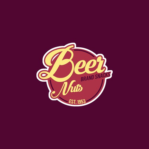 Beer Nuts logo design