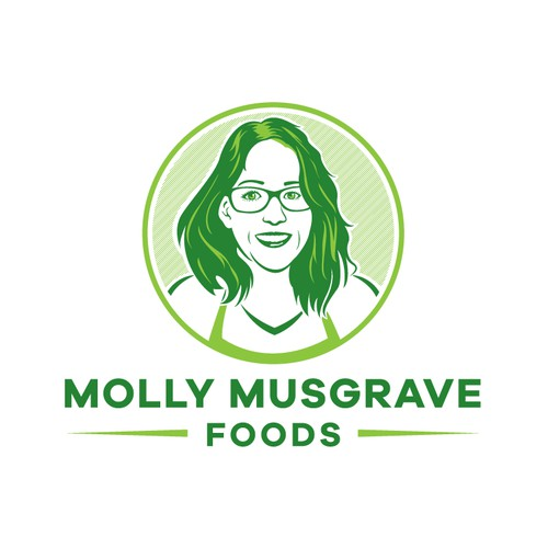 Molly Musgrave Foods Logo Design