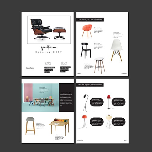 Minimal Furniture Catalog