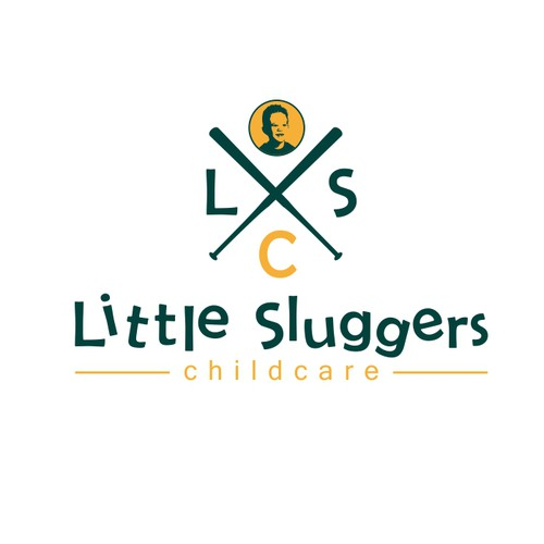 Little sluggers childcare logo