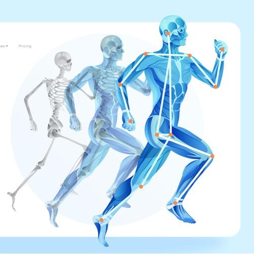 Human Pose Estimation Illustration