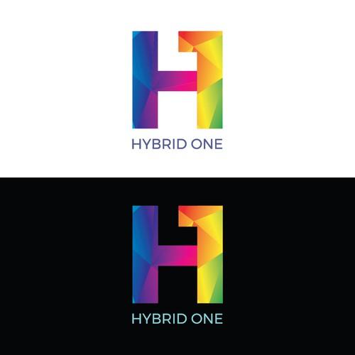 Logo concept for Hybrid One/H1