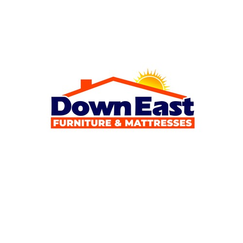 Logo for Down East Furniture & Mattresses.