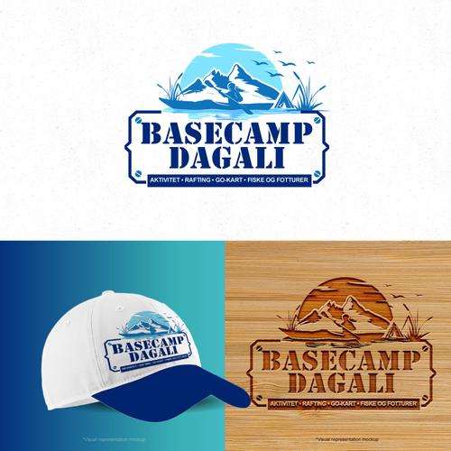 Summer camp logo design