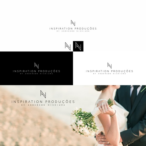 A clean and luxurious logo for Wedding Photographer