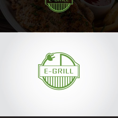 Logo design for Electric Barbecue Grill Shop