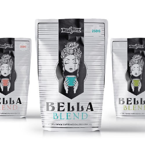 Coffee Brand Packaging