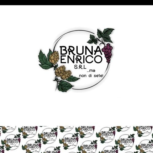 Logo concept for beverage