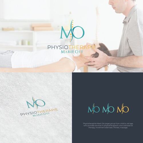 Logo design for Physiotherapie Marit Ott