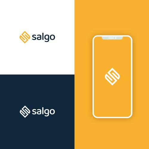 Salgo logo design