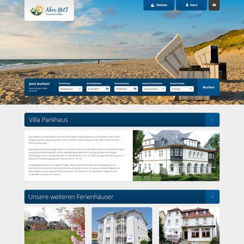 aber GUT! Ferienwohnungen benötigt ein website design
