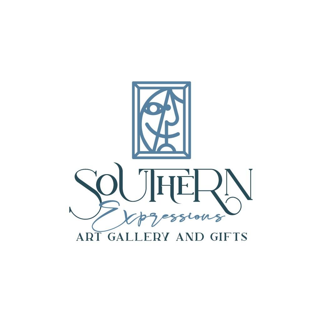 Unique artsy logo for unique artsy gift shop