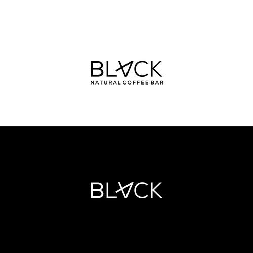 Bold logo for Black