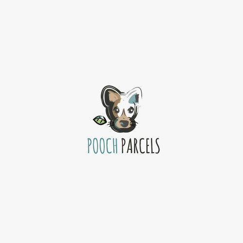 Unique illustrated logo for dog/pet company