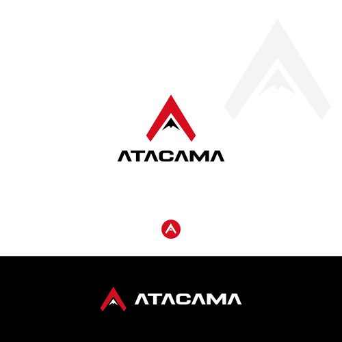 Simple, Strong, powerful and clever logo concept for ATACAMA