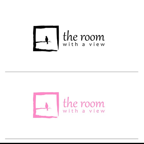 "Create an eye catching logo for an interior design/wedding planning team called ""A Room With a View"""