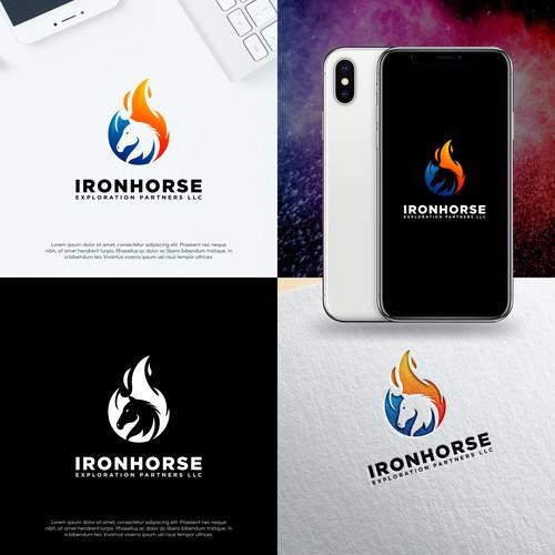 Horse Flame Logo