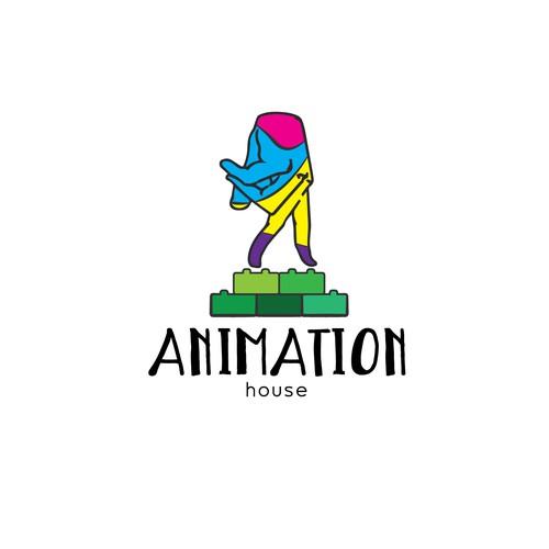 Logo concept for Animation studio