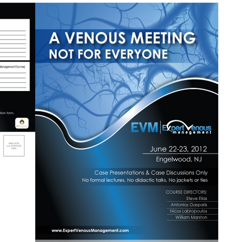 print or packaging design for Expert Venous Management
