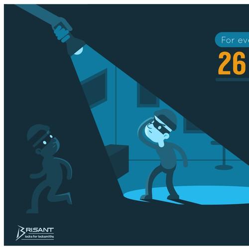 Burglar Caught
