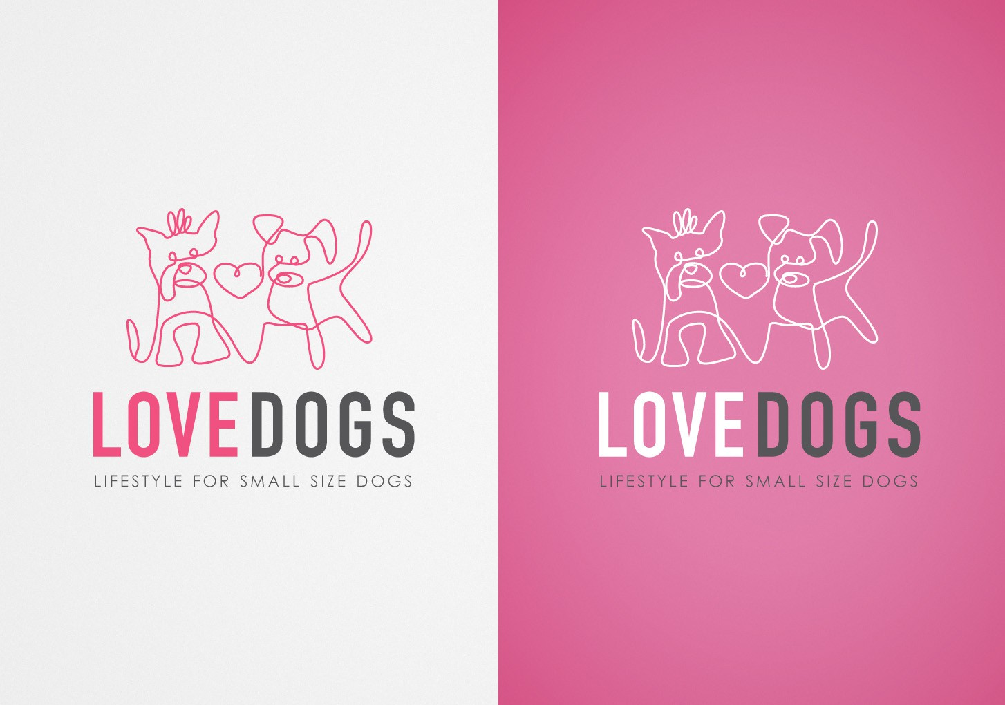 Create the next logo for Lovedogs