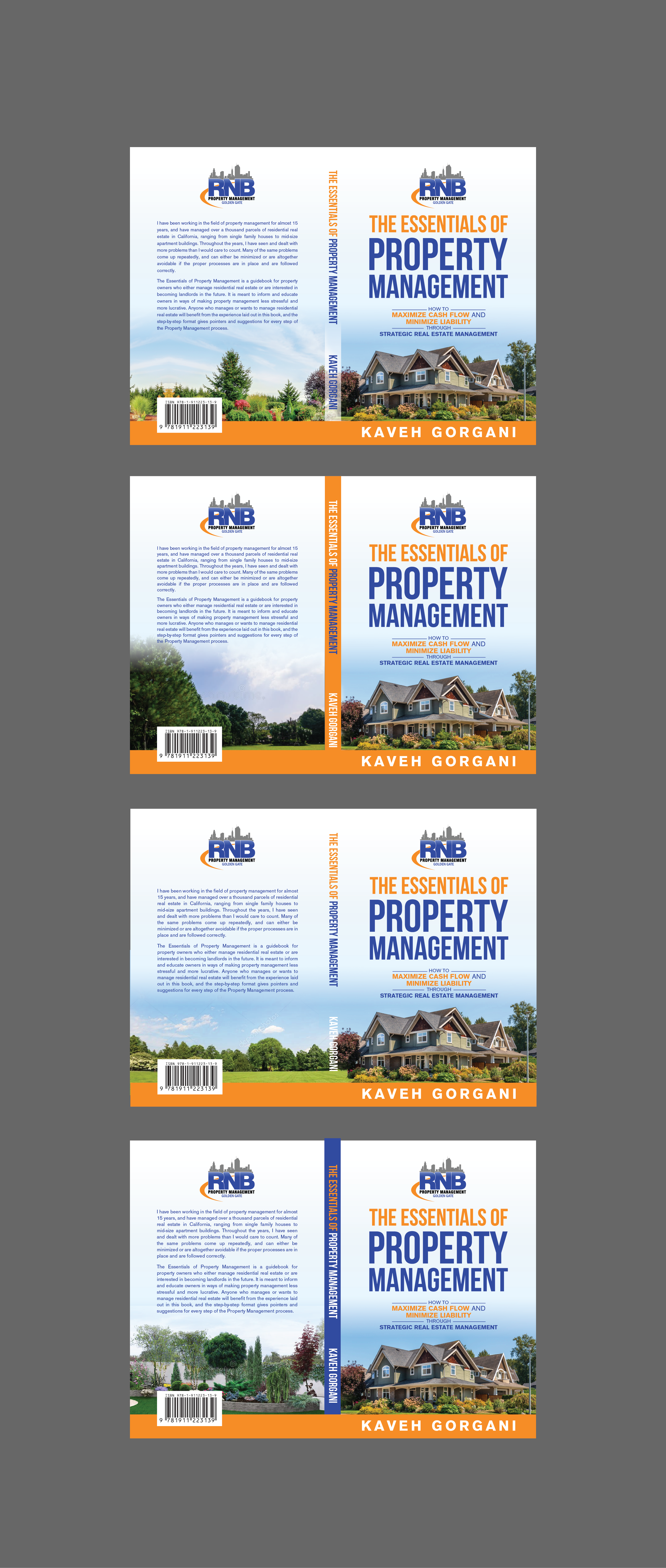 Looking for the help of a creative genius for my first Real Estate book cover!