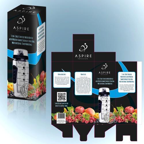 Package Design Waterbottle