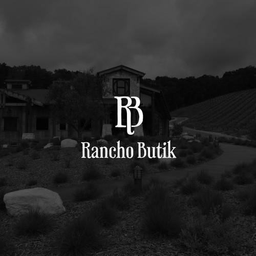 Monogram for Rancho Butik.