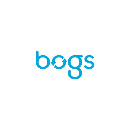 bogs Logo with Recycle Sign