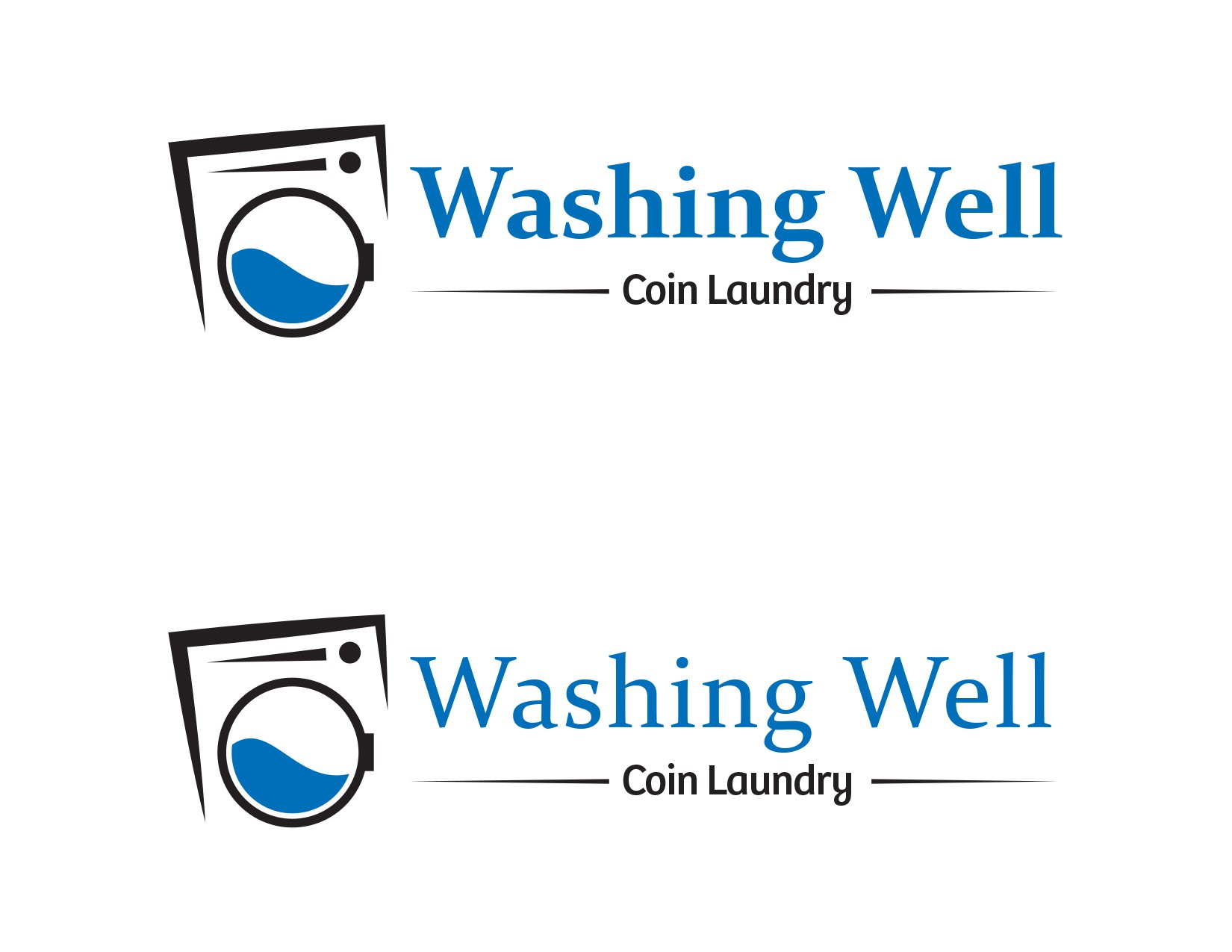 Create a winning logo design for the  Washing Well