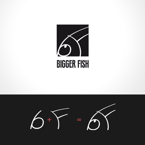 Create a logo for Bigger Fish