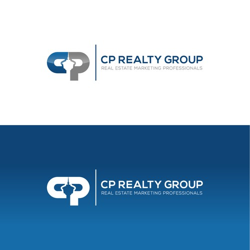 Logo design concept for CP REALTY GROUP