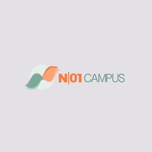 Contemporary logo for renewable energy data center